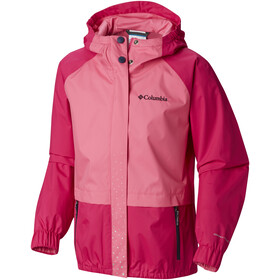 Columbia Splash S'more Rain Jacket Girls Haute Pink/Wild Geranium/Nocturnal